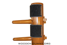 Wooden Dummy Free Standing Easy
