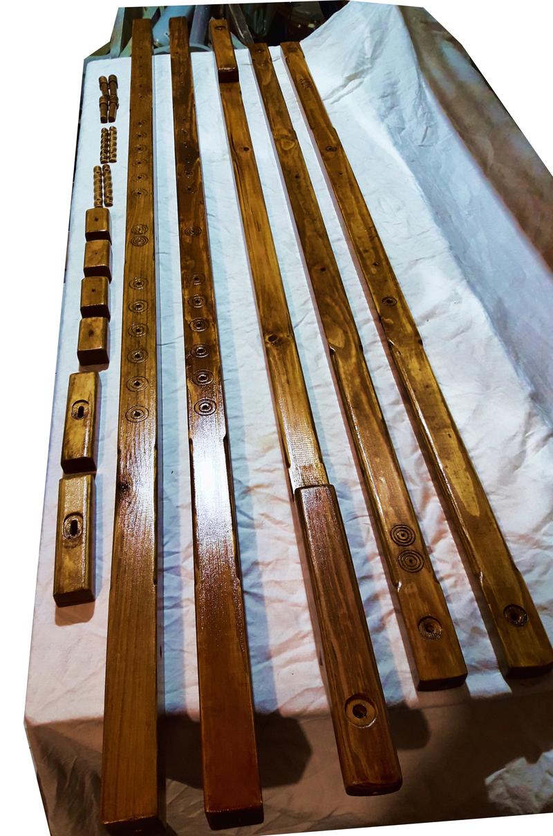 Деревянный Манекен Classic-Standing Сосна Коричневый