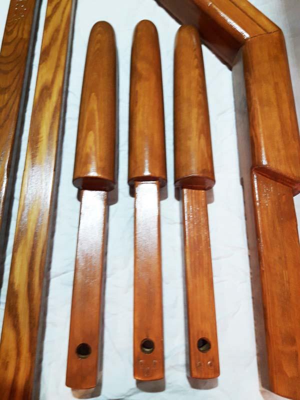 Деревянный Манекен Classic Folding Сосна Коричневый