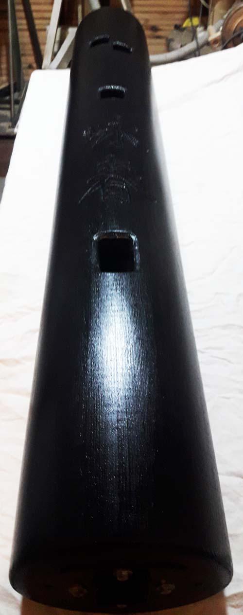 Деревянный Манекен Standing-2 Сосна Черный