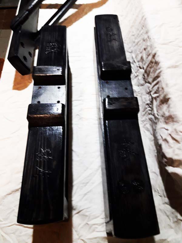 Деревянный Манекен Standing Сосна Черный