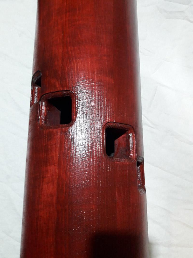 Деревянный Манекен Standing Double Сосна Красный