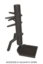 Wooden Dummy Free Standing Double