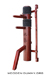 Wooden Dummy Stationary-2 Pine Red