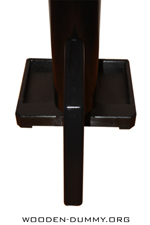 Wooden Dummy Free Standing PVC