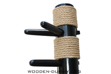 Wooden Dummy Compact PVC