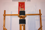 Wooden Dummy Free Classic-Standing