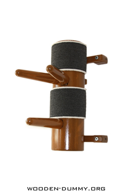 Wooden Dummy Half-Dummy-1 Pine Brown