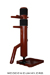 Wooden Dummy Free Standing-2 Pine Red