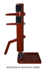 Wooden Dummy Free Standing-2